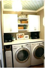 Laundry Room Storage Between Washer And Dryer Cabinets For Washer And Dryer Between Washer Dryer Storage Laundry
