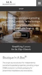 slx hospitality branding and web development the lab creative