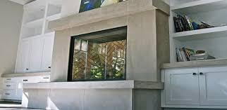 concrete fireplace surround design ideas the concrete network