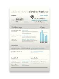 resume template cool creative resume designs that can get you hired part 2 resume design of surabhi wadhwa