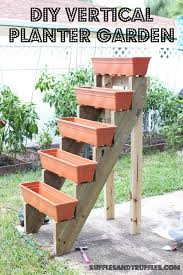Planter Garden Ideas Diy Vertical Planter 5 Jpg