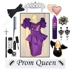 Halloween Prom Queen Costume Diy 80s Prom Queen Costume Polyvore