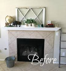 Affordable Temporary Wallpaper Simple And Temporary Fireplace Makeover