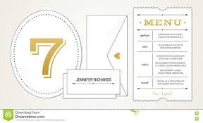 Wedding Invitation Card Fonts Wedding Invitation Pt 3 Template Menu Table Number Name Place