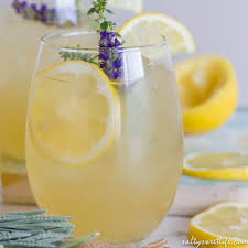 lavender cocktail lavender thyme lemonade fizz salty sweet life