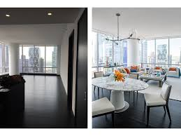 one57 luxury condo marble table jpg