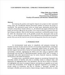 cost benefit analysis template 13 download free documents in