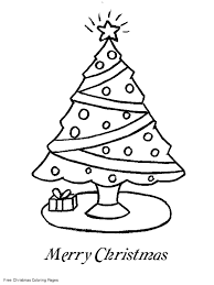 tree with stars coloring pages christmas coloring pages for
