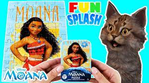 moana puzzle solving a 50 piece disney moana puzzle toys games