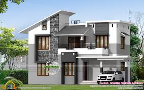 kerala contemporary house plans images modern home design also