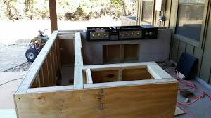 outdoor kitchen build texasbowhunter com community discussion