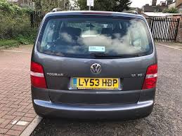 2003 volkswagen touran 1 6 fsi s mpv 5dr 7 seats manual