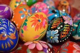 painted wooden easter eggs painted wooden easter eggs egg decorations no plastic