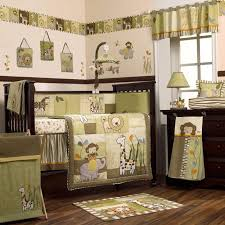 Crib Bedding Jungle Furniture 4 In 1 Convertible Crib C Appealing Safari