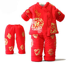 new year baby clothes autumn winter newborn baby clothing set new year cotton