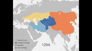 United States Territorial Growth Map by Growth Of The Mongol Empire 1206 1294 Youtube