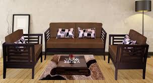 Wooden Sofa Bed Get Modern Complete Home Interior With 20 Years Durability Teak
