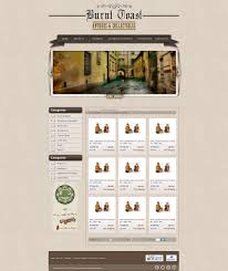 retro themed ebay shop u0026 listing template