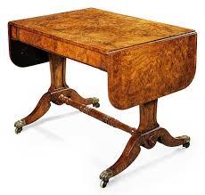 Oak Sofa Table by A Regency Pollard Oak Sofa Table In The Manner Of George Bullock