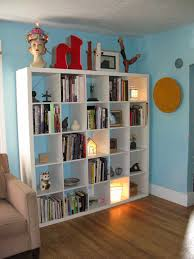 Bookcases With Lights Cheap Ikea Hemnes Bookcase With Simple Amerock And Side Table Plus