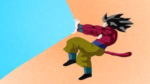 Superminimalist Goku Black Dragon Ball Super Minimalist Wallpaper Nerdy Things