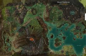 Caledon Forest Map Mount Maelstrom Map Guild Wars 2