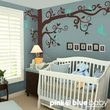 Nursery Wall Tree Decals Modern Black Baby Nursery Wall Decals Tree Decorations