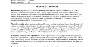 Entry Level Medical Assistant Resume Samples by Resume Template For Certified Medical Assistant