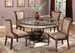 round glass dining room table sets with glass dining room sets