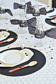 halloween tablecloths create a bootiful diy halloween table diy home decor your diy