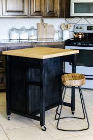 hard maple wood honey lasalle door diy rolling kitchen island