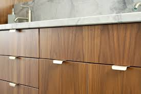 Kitchen Cabinets With Pulls Bathroom Reno Update Mid Century Modern Inspired Cabinet Pulls