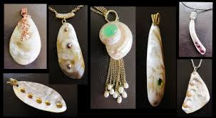 shell necklace making images Sea shells for making jewelry liz kreate jpg