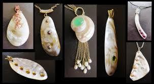 How To Make Jewelry From Sea Glass - sea shells for making jewelry liz kreate youtube