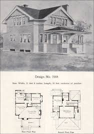 open floor house plans two story 1908 william a radford plan no 7008 two story eclectic plan