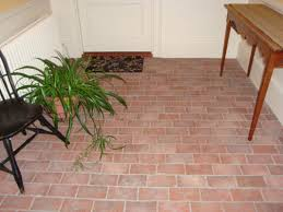 flooring wonderful faux brick tile flooring image concept look