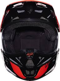 fox helmet motocross fox 2017 v1 race motocross helmet orange manchester xtreme