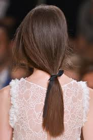 ribbon ponytail easy upgrade tie a ribbon around your ponytail new york