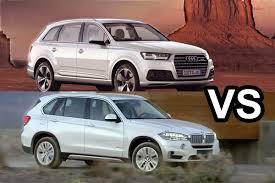 lexus 570 vs audi q7 benim otomobilim 2016 audi q7 vs 2016 bmw x5 visual comparison