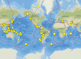 Earthquake Map Usgs Philippines South Atlantic And Alaska Earthquakes 9 15 February 2017