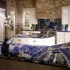 Granite Countertops Ideas Kitchen 33 Best Vivid Blue Granite Countertops Images On Pinterest Blue