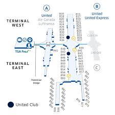 denver terminal b map united denver location sevenr