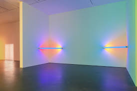 corridor lighting light as art corners barriers and corridors by dan flavin