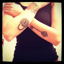 ingenious key tattoos