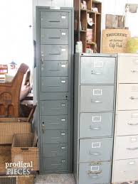 Industrial File Cabinet Repurposed Sewing Fabric Storage Prodigal Pieces