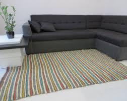 striped rug etsy