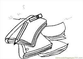 pencil coloring pages notebooks u0026 pencil coloring page free coloring pages