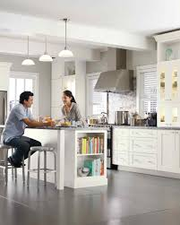 White Kitchen Cabinets With Dark Floors by Off White Kitchen Cabinets And Dark Floors Amazing Home Design
