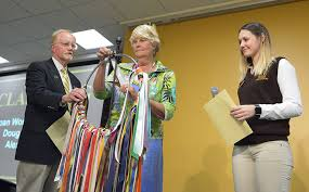 alumni ribbons alumni celebration honors bw merit award winners and class of 67