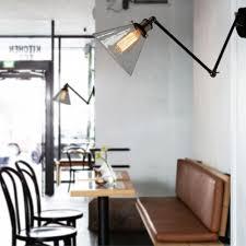 wall mount swing arm lamp aliexpress com buy vintage industrial loft swing arm wall sconce